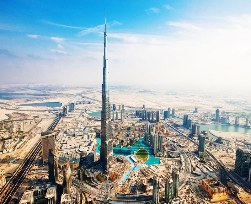 Burj Khalifa Dubai land mark