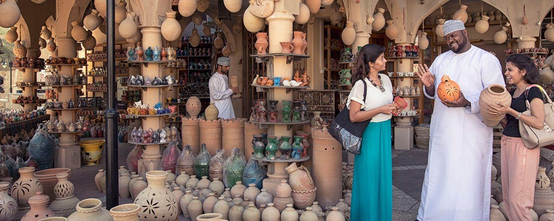 shopping in Oman markets , Bazaars, Souks