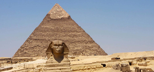 Pyramids of Egypt and Sphinx