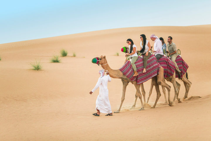 Camel riding dubai desert safari