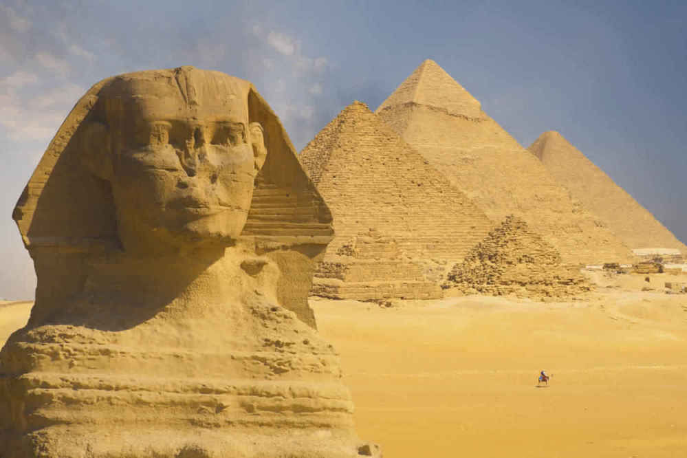 sphinx tours in Egypt