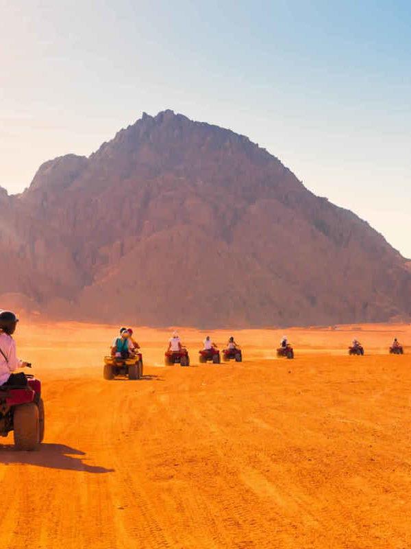 Hurghada Desert Safari by Quad Bike