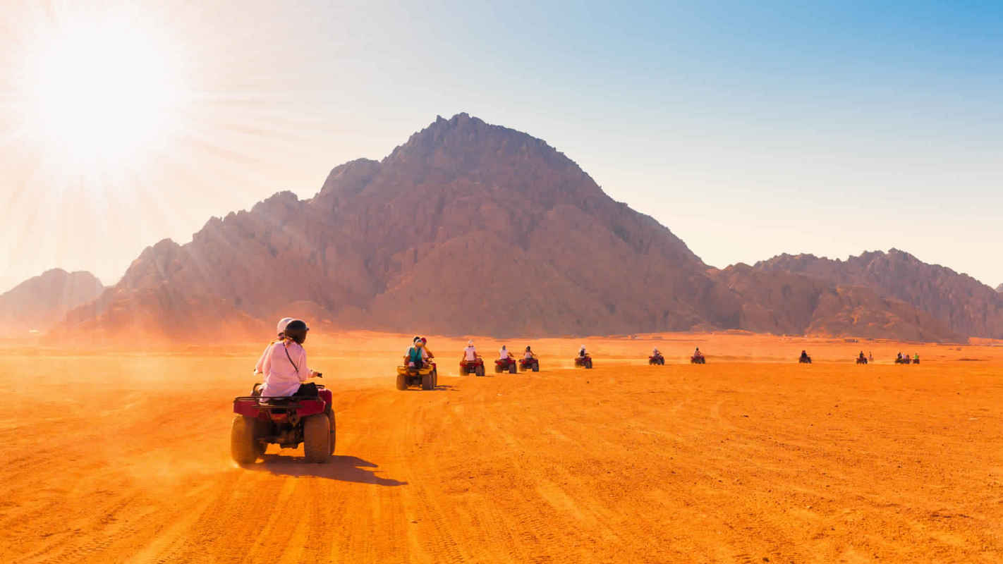 Hurghada Desert Safari by Quad Bike