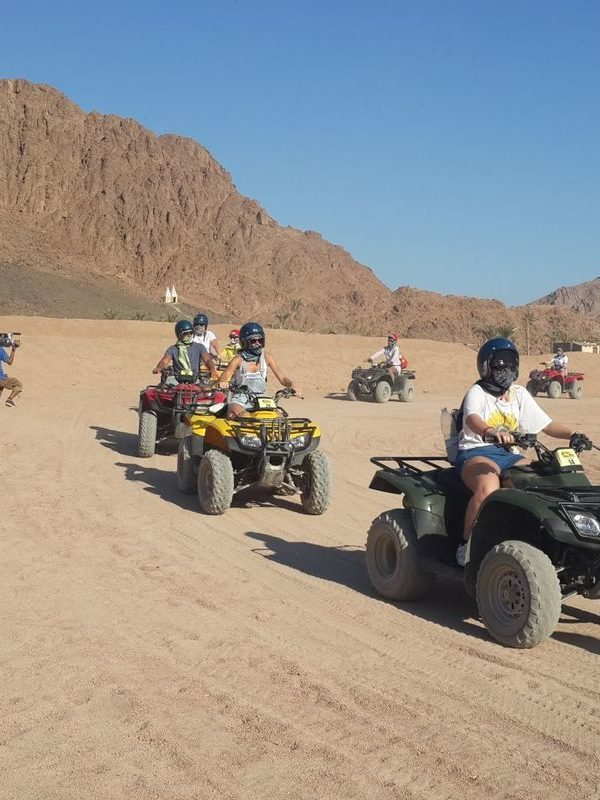 Morning Hurghada Quad Bike Desert Safari