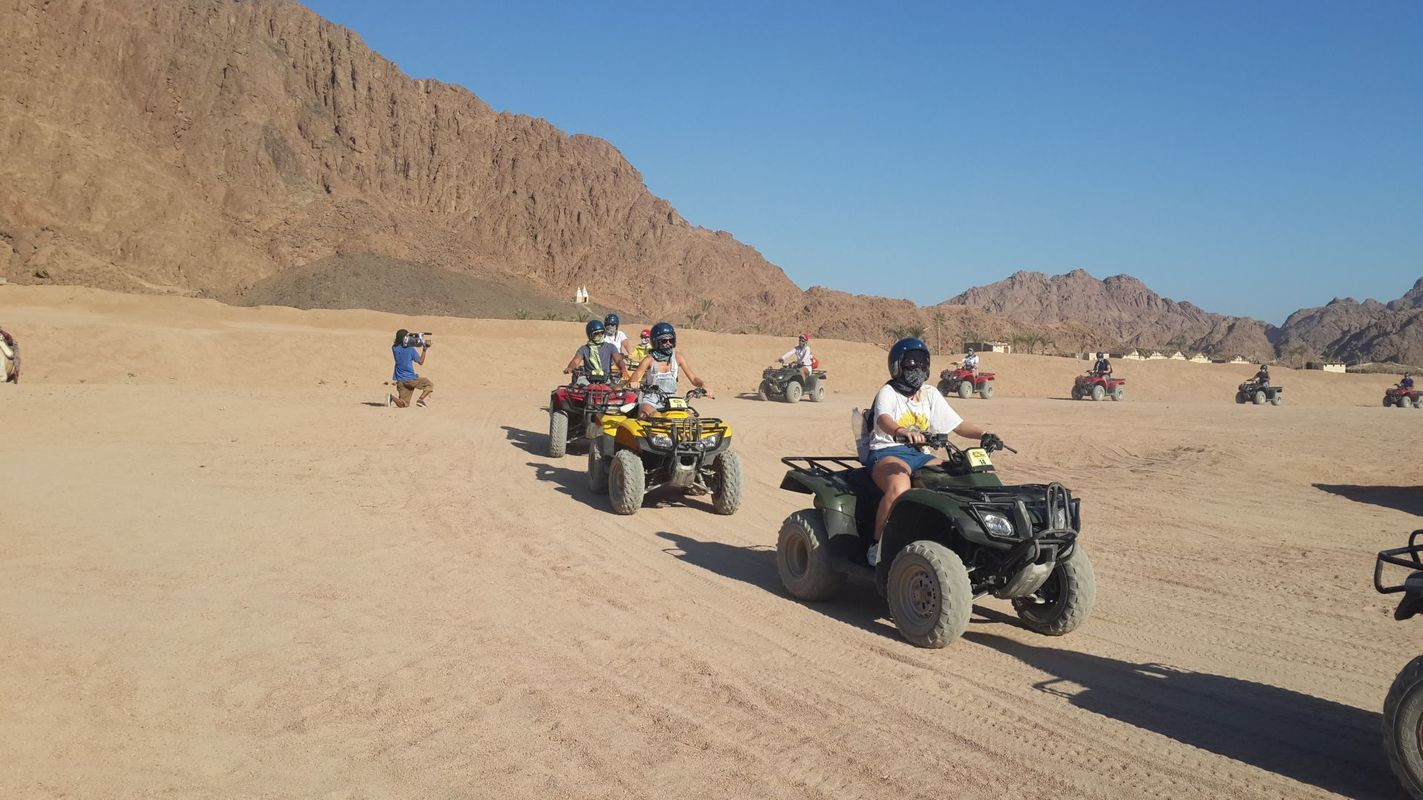 Morning Hurghada Quad Bike Desert Safari
