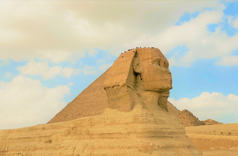 Egypt tours best sphinx image